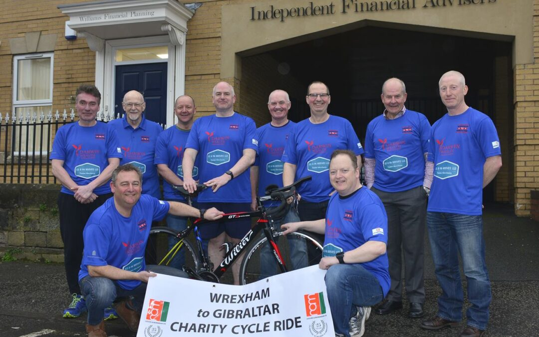 Wrexham to Gibraltar Charity Cycle Ride 2018