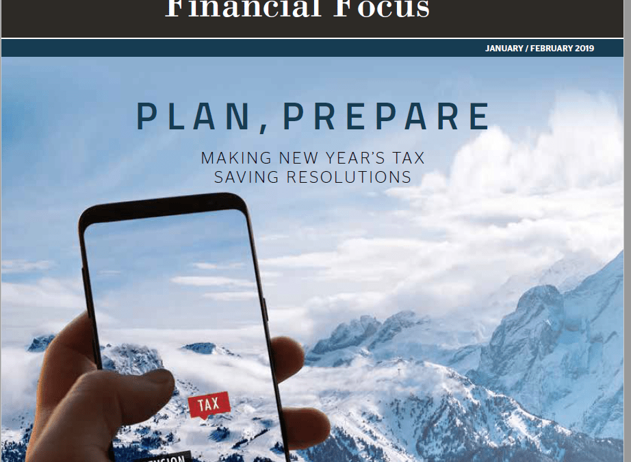 Williams Financial Planning Ltd Newsletter – February 2019