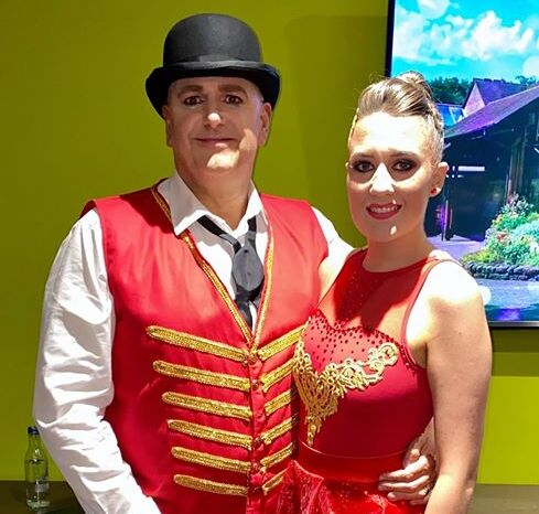 Richard Williams wins Strictly Come Dancing competition